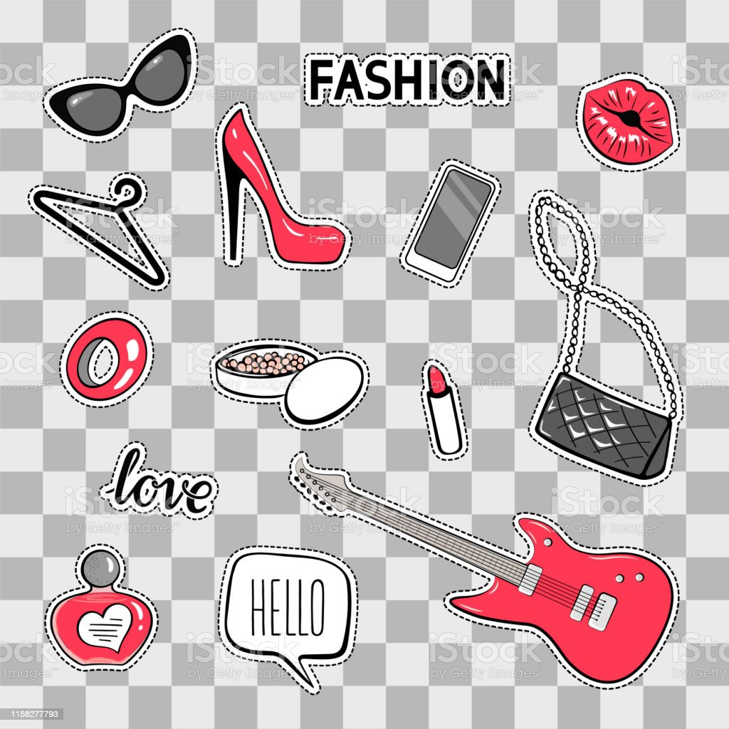 Fashion Accessories Stickers