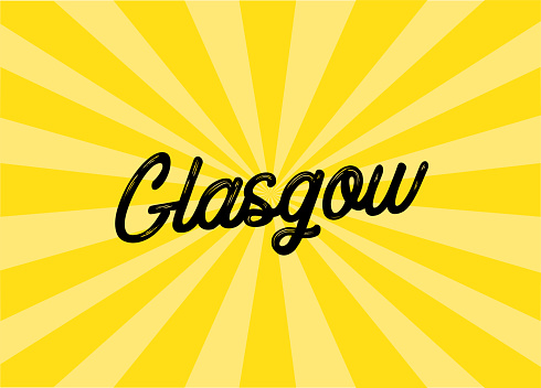 Glasgow Lettering Design