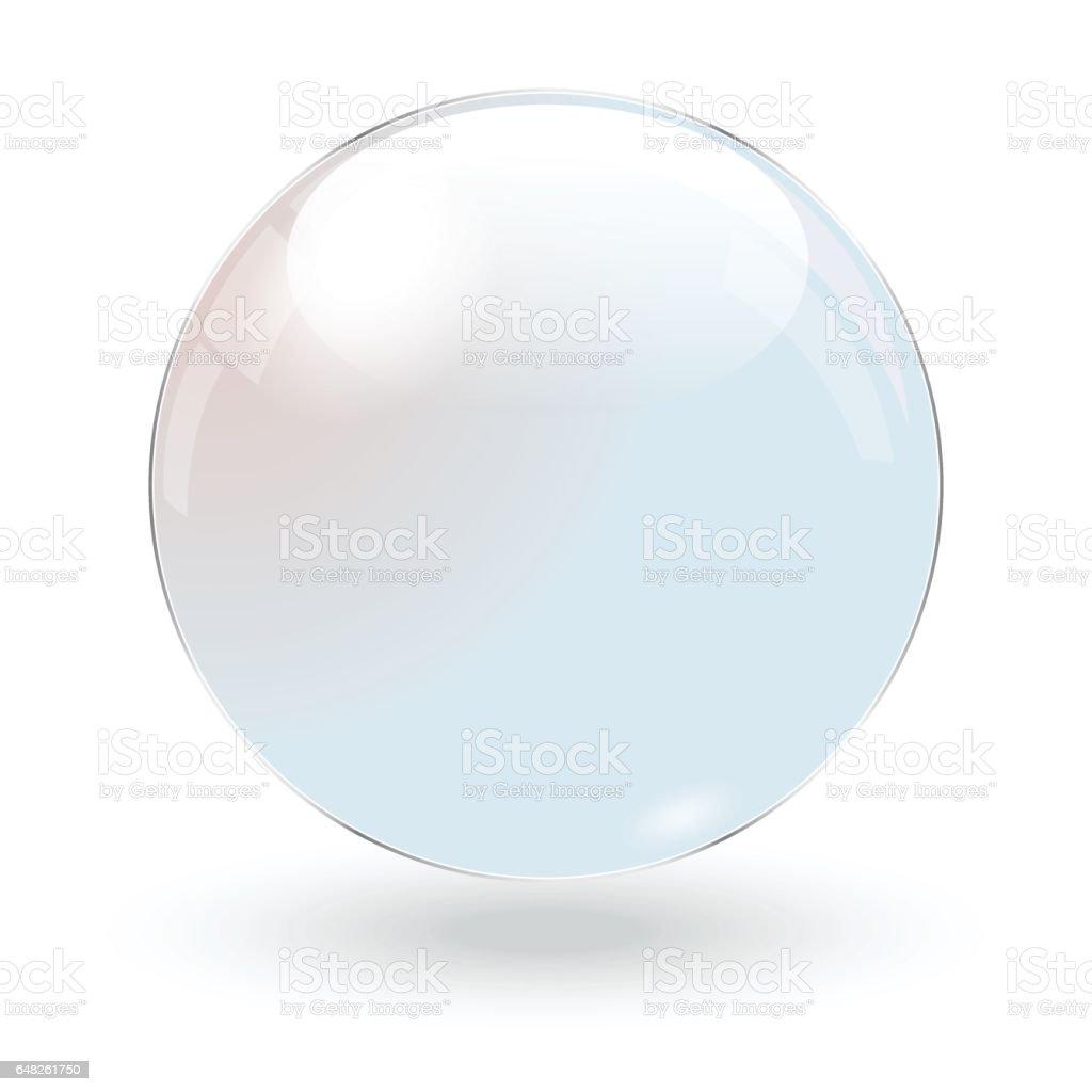 Bola de cristal - ilustración de arte vectorial