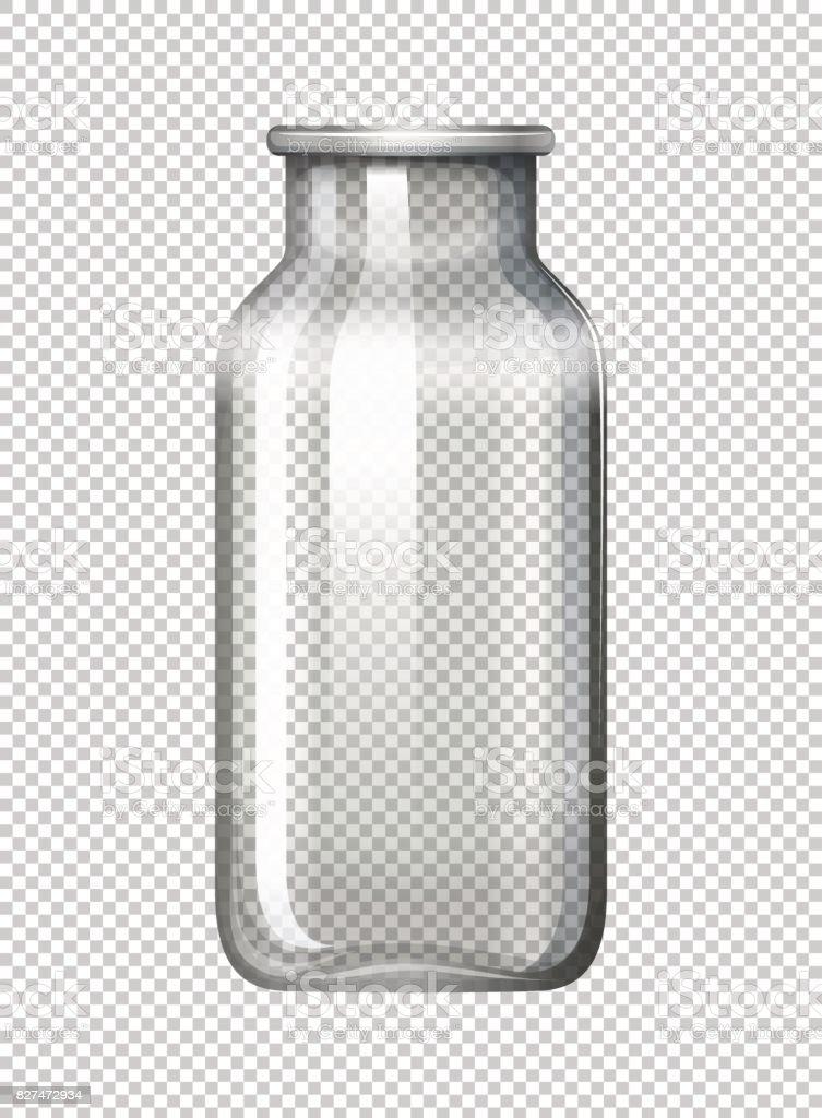 背景が透明のガラス瓶 からっぽのベクターアート素材や画像を多数ご