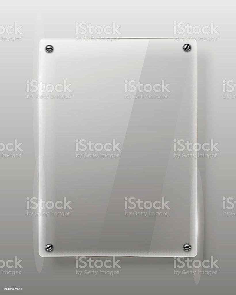 Glass framework Vector illustration vector art illustration