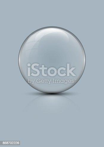 istock Glass globe 858702226