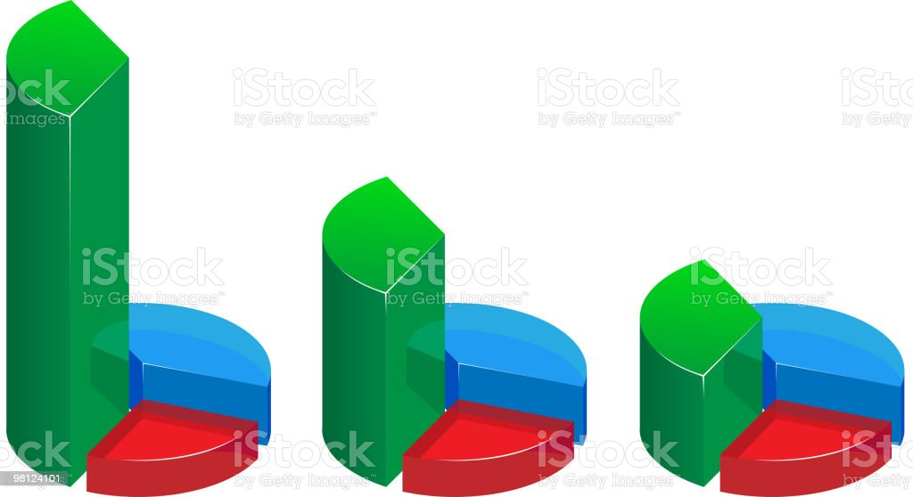 glass graphs royalty-free glass graphs stock vector art & more images of business