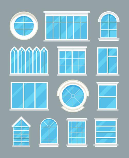 House Windows Clip Art : Royalty free window clip art vector images