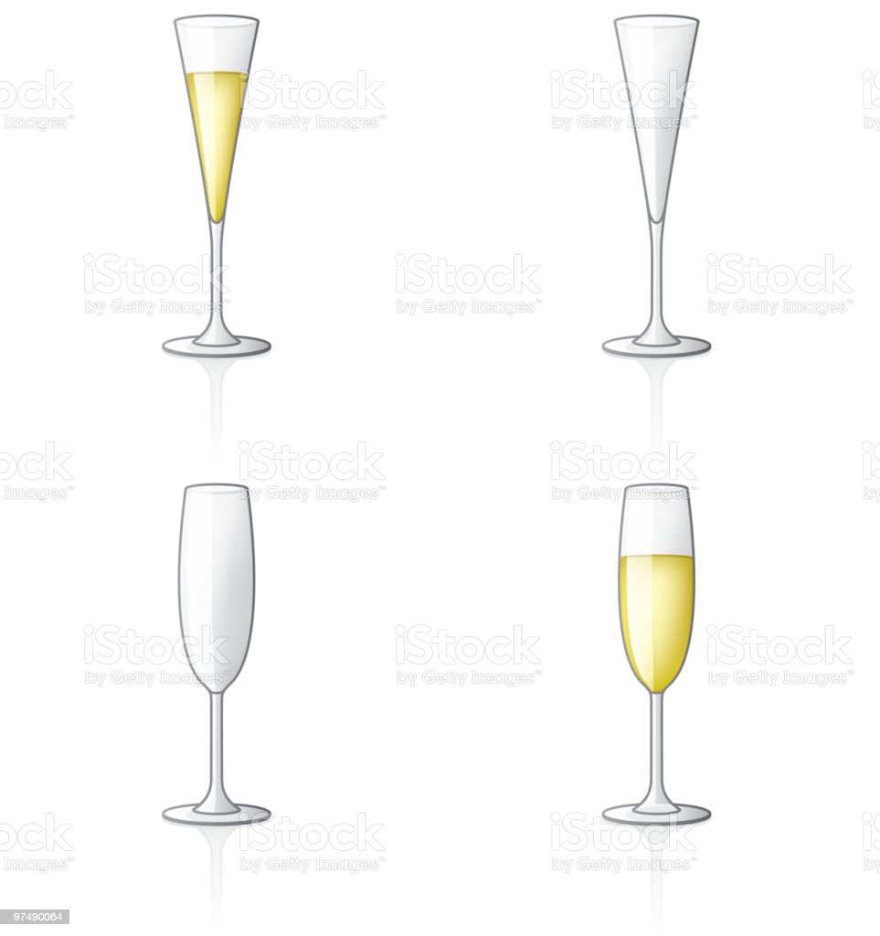 Glass Icon Set. Design Elements royalty-free glass icon set design elements stock vector art & more images of alcohol