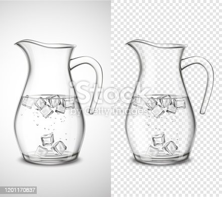 istock glass jug with water and ice 1201170837