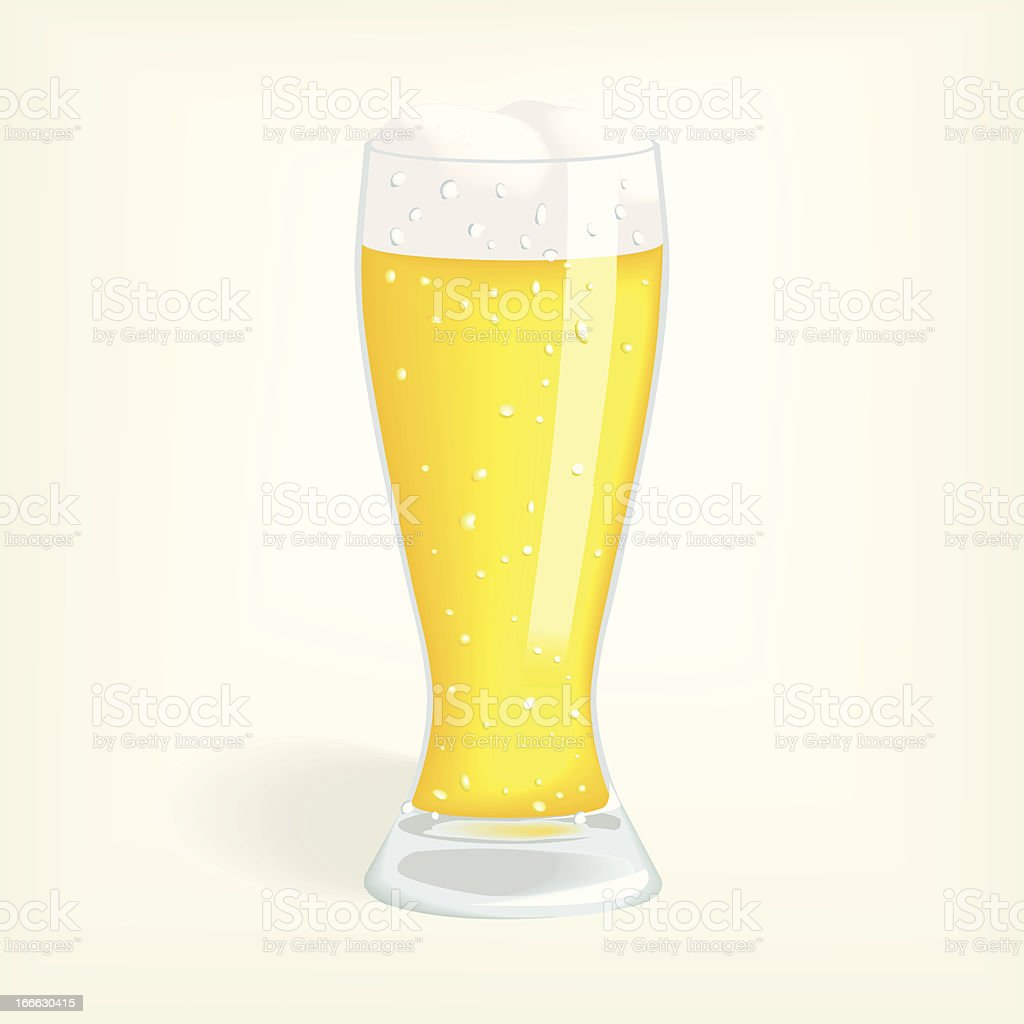 Glass of Beer royalty-free glass of beer stock vector art & more images of alcohol