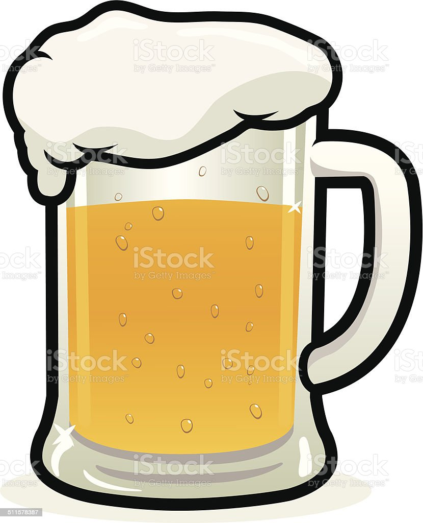 royalty free beer mug cartoons clip art vector images rh istockphoto com beer mug clipart vector beer stein clipart black and white