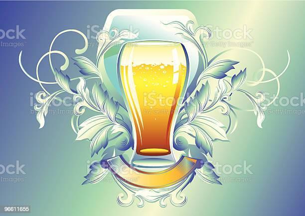 Glas Bier Stock Vektor Art und mehr Bilder von Alkoholisches Getränk
