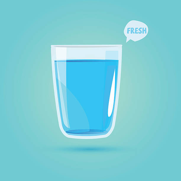 Royalty free drinking glass clip art vector images for Water glass images