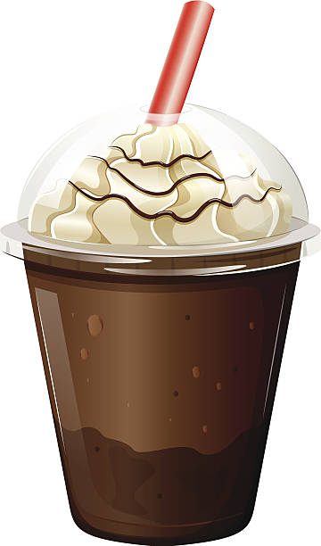 Best Iced Coffee Illustrations, Royalty-Free Vector ...