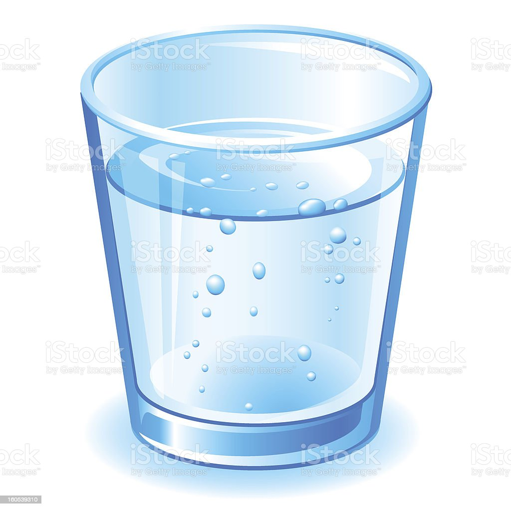 royalty free clip art of a cup water clip art vector images rh istockphoto com glass with water cliparts glass of water with straw clipart