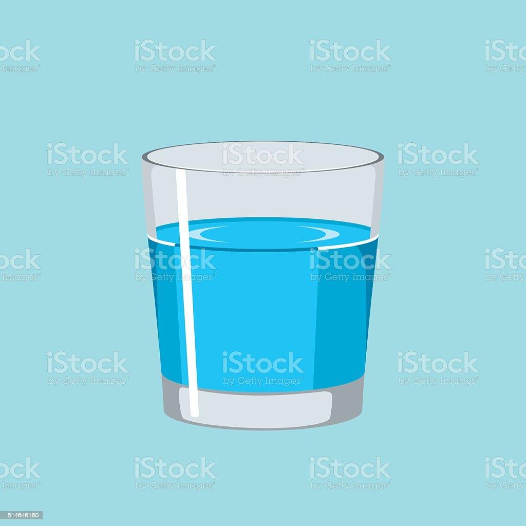 Water glass clip art