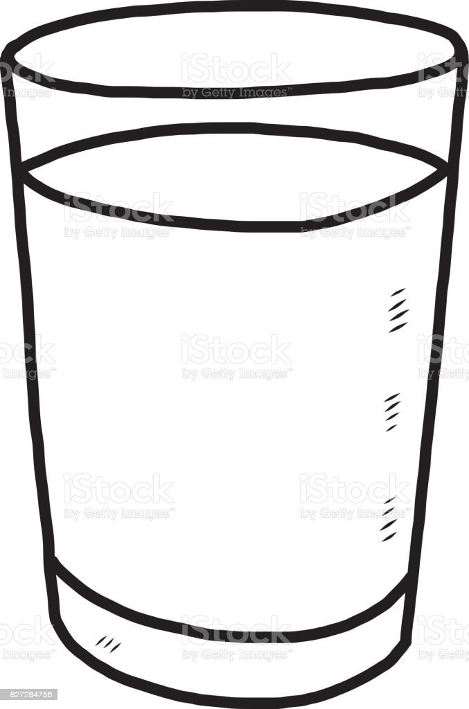 Glass wet black and white art clip art vector images illustrations