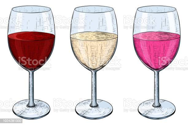 Glass of wine red white and rose wine hand drawn sketch vector id1024281332?b=1&k=6&m=1024281332&s=612x612&h=g0blttbqog3hcwmufgtlfn879lx bt8qcwqsj6qleog=