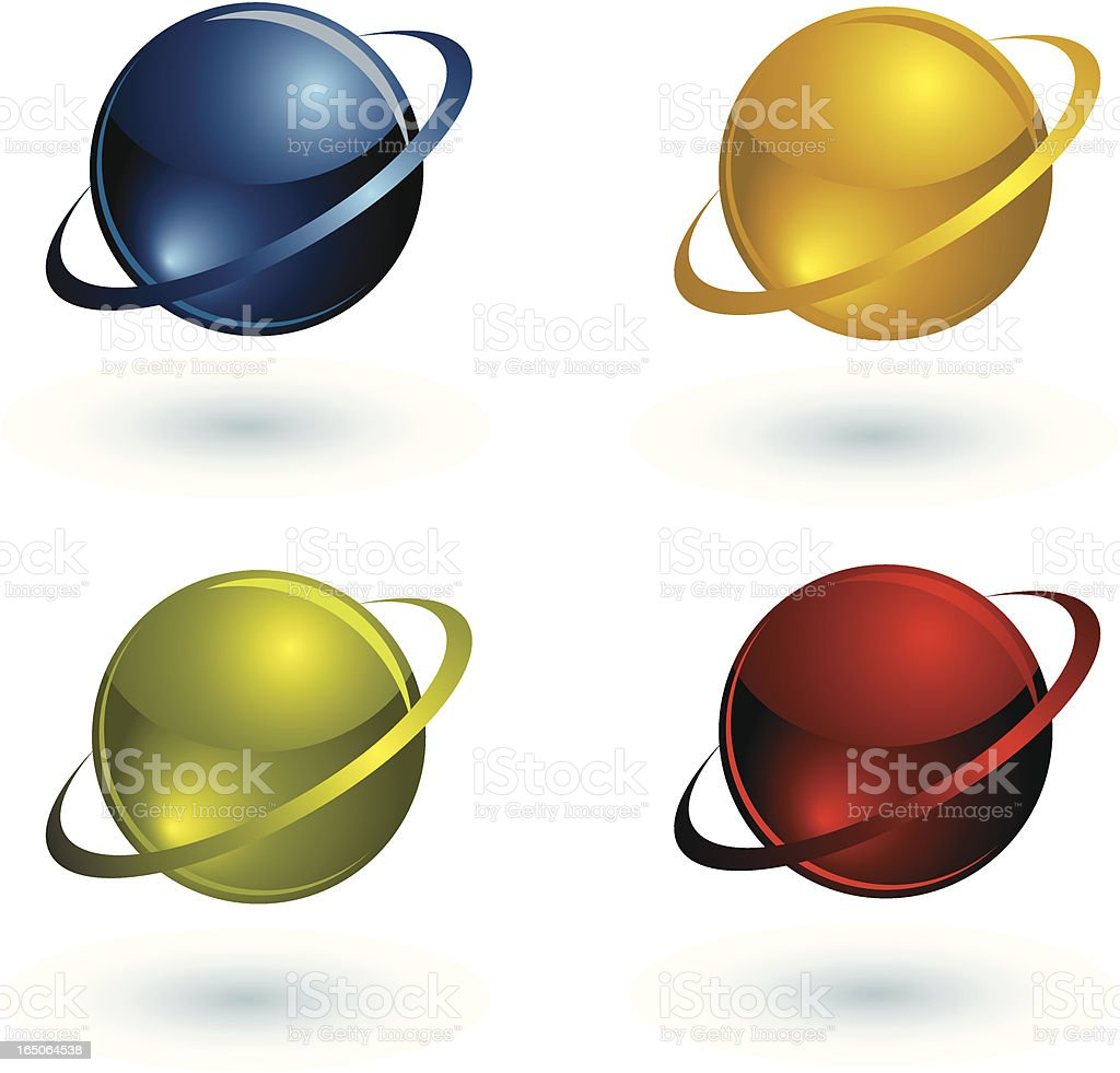 Glass Planets royalty-free glass planets stock vector art & more images of blue