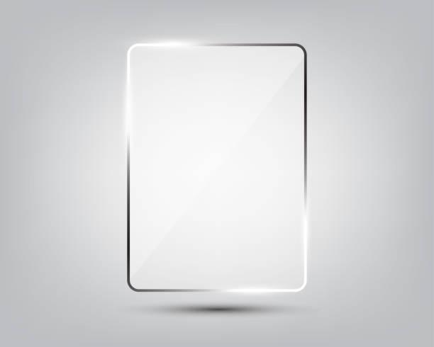 グラデーションの背景のガラス プレート - ガラスのテクスチャ点のイラスト素材/クリップアート素材/マンガ素材/アイコン素材