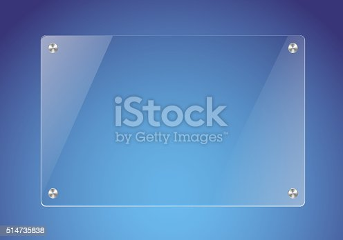 istock Glass plate 514735838