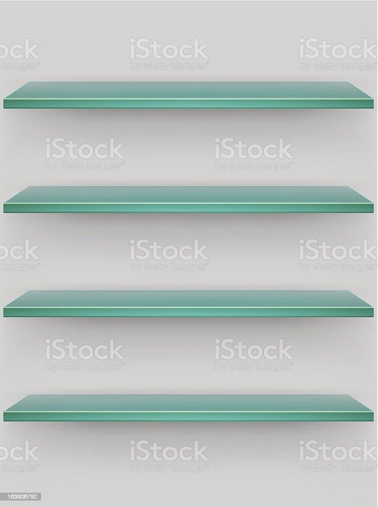 Glass shelves royalty-free glass shelves stock vector art & more images of bookshelf