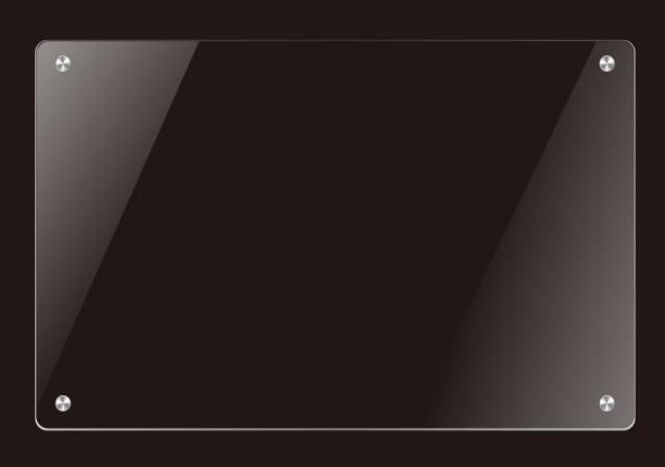 Glastafel Vorlage – Vektorgrafik