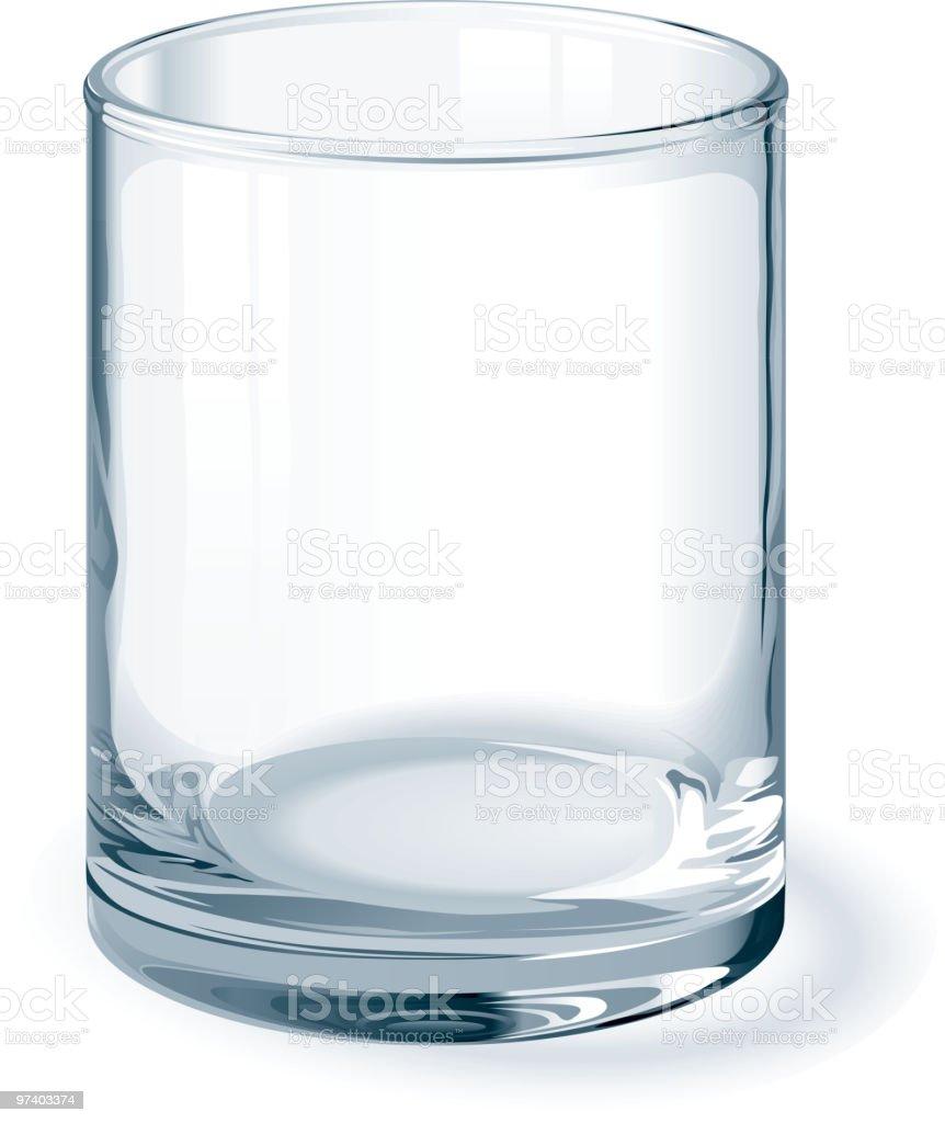 Glass royalty-free stock vector art