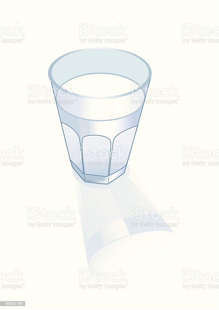 Glass - Vector royalty-free stock vector art