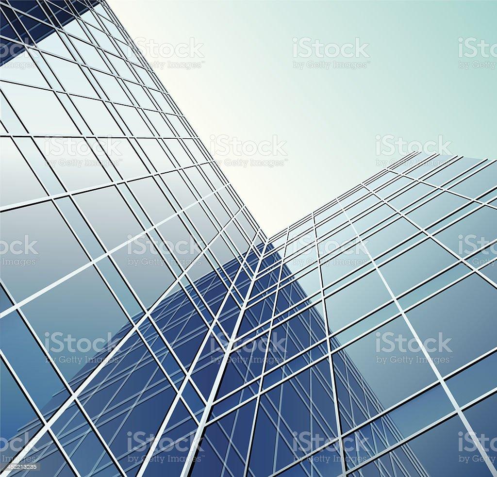 Glass window royalty-free stock vector art