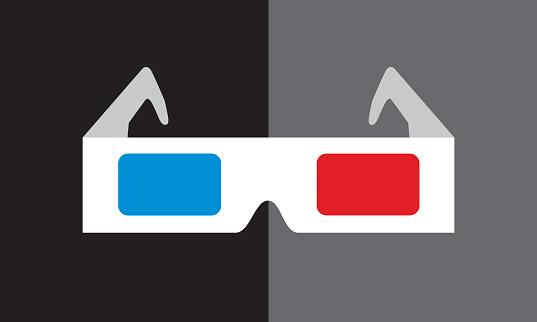 Glasses 3D Icon