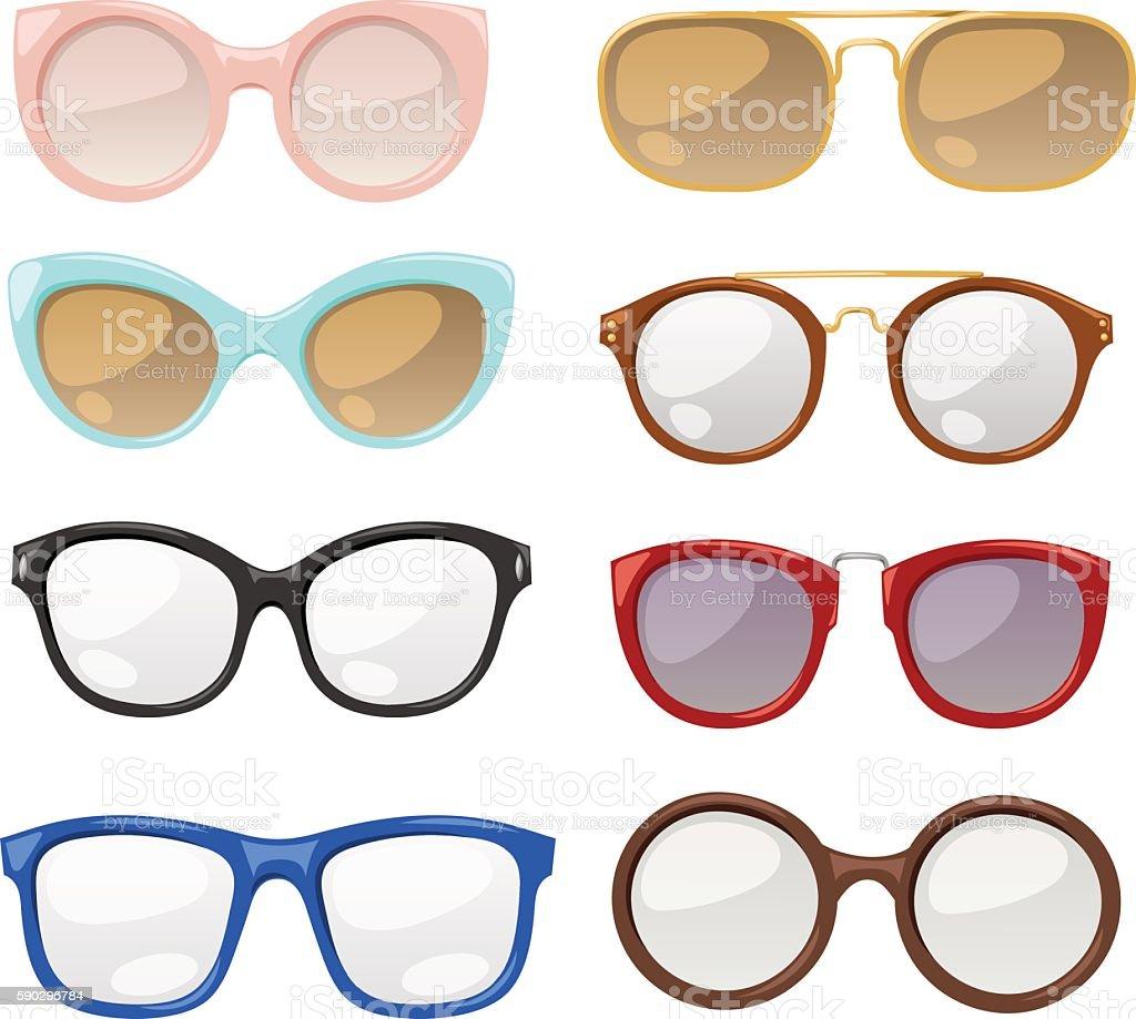 Glasses human eye vector glasses human eye vector — стоковая векторная графика и другие изображения на тему Белый Стоковая фотография