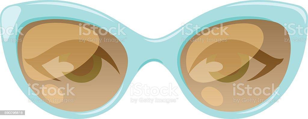 Glasses human eye vector royaltyfri glasses human eye vector-vektorgrafik och fler bilder på bildskärpa
