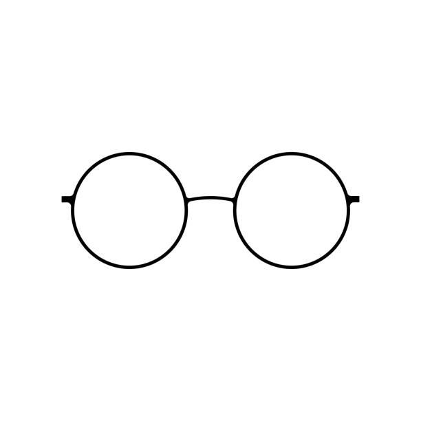 Glasses icon sign vector art illustration