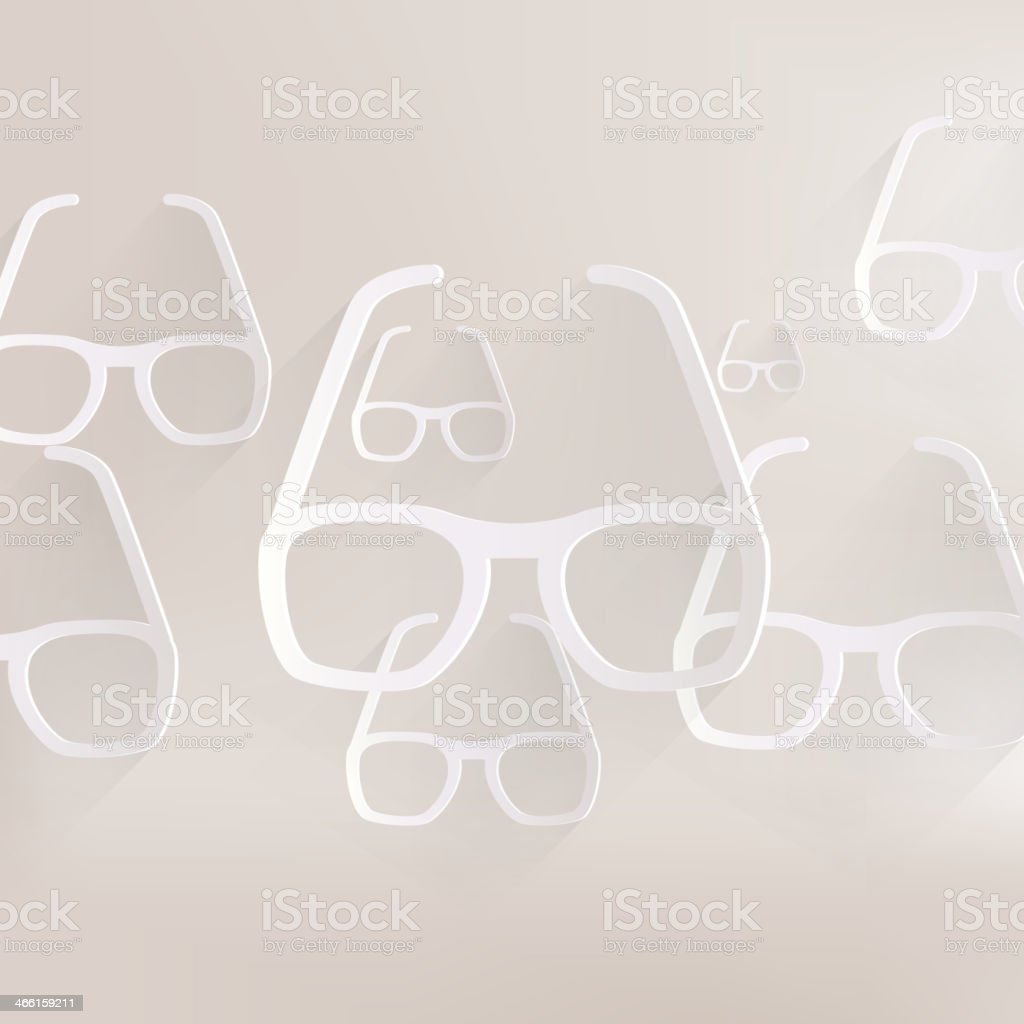 Glasses icon royalty-free stock vector art