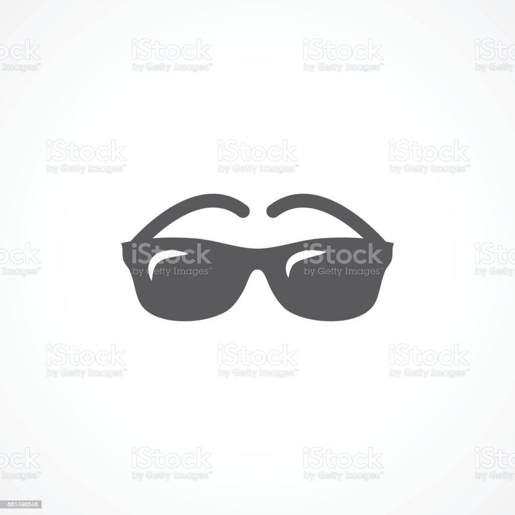 Glasses icon vector art illustration