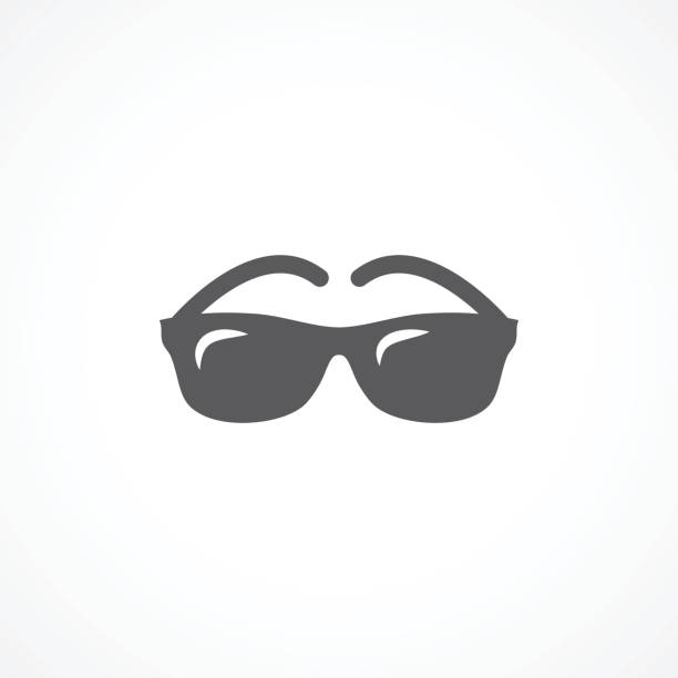 glasses icon - sunglasses stock illustrations, clip art, cartoons, & icons