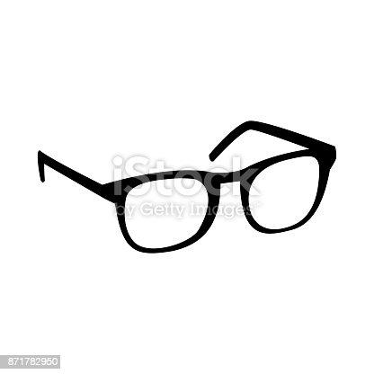 istock Glasses Vector Icon 871782950