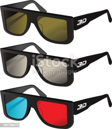 istock 3D Glasses 165768679