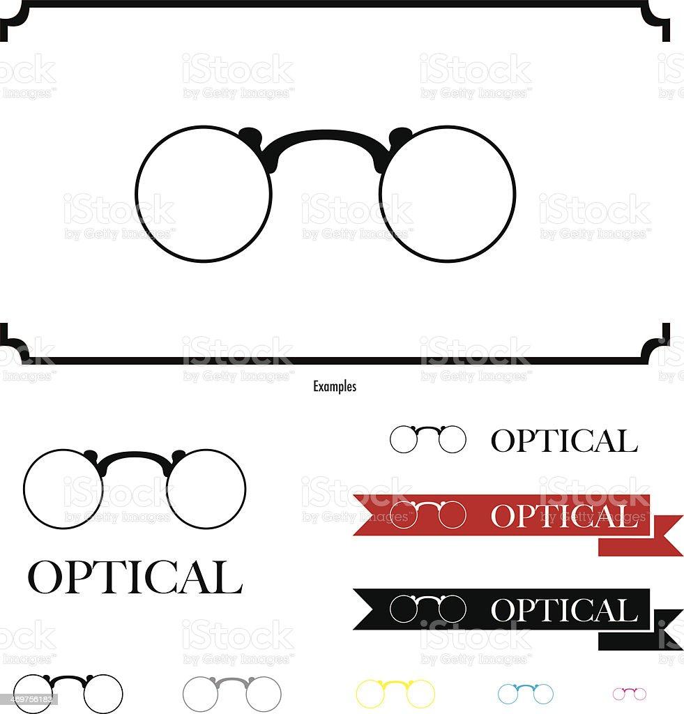 Glasses royalty-free stock vector art