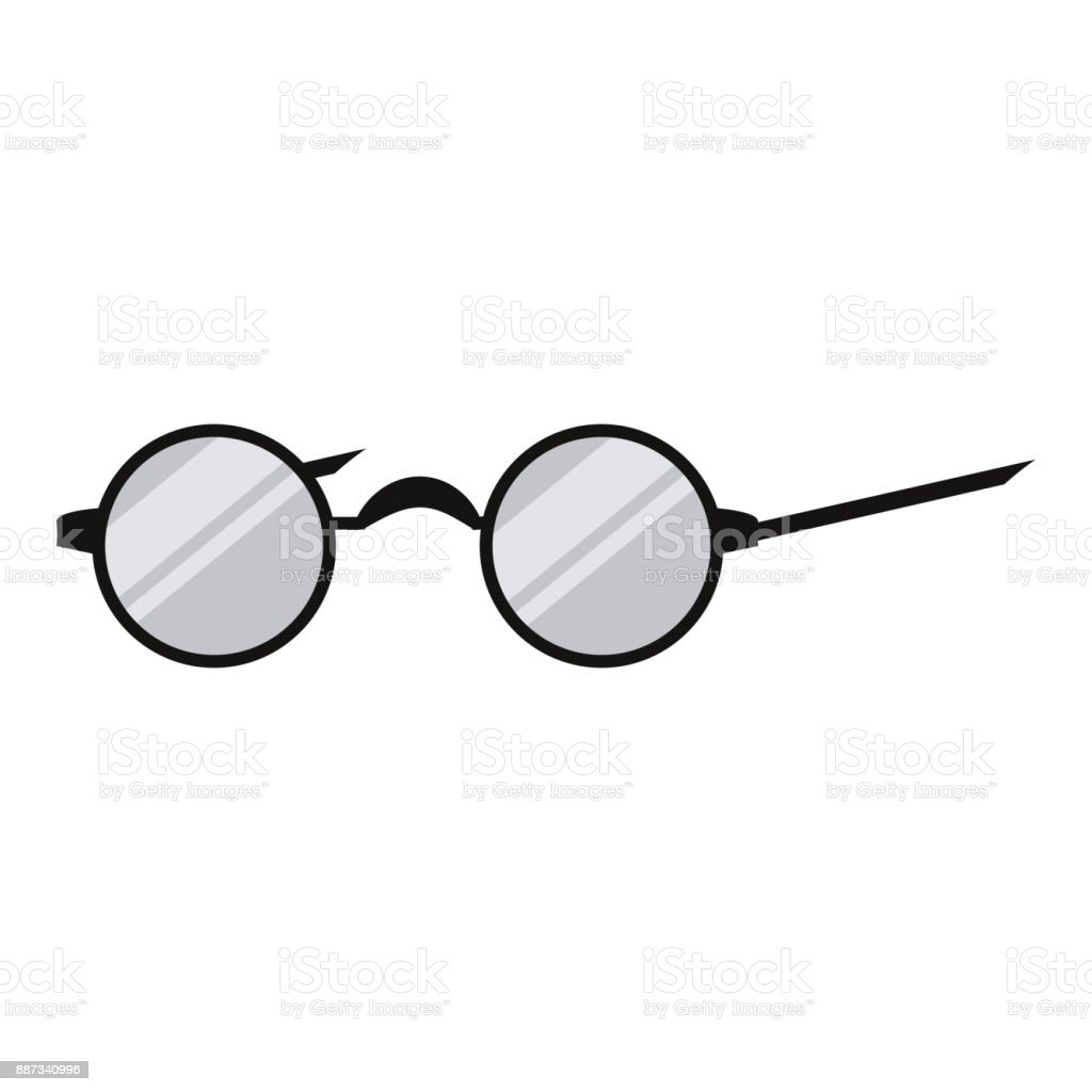 18487c0cd38e Glasses with round frame royalty-free glasses with round frame stock vector  art  amp