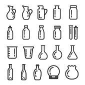 glassware ,glass container icon