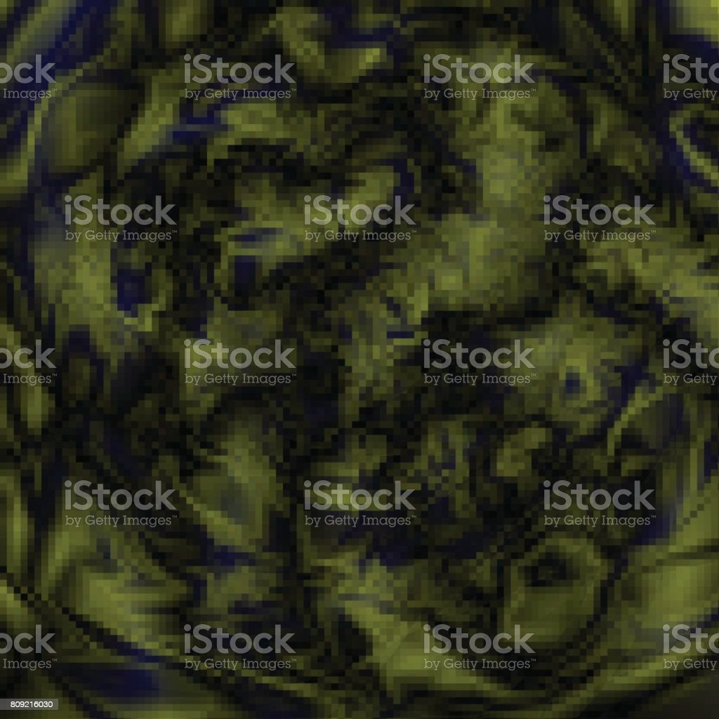 Glitch Abstract Background Alien Texture Or Space Alien Planet