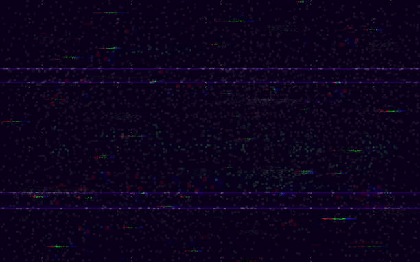 stockillustraties, clipart, cartoons en iconen met glitch geen signaal. minimale vhs achtergrond. video probleem sjabloon. pixel ruis en kleur digitale vervormingen. video game glitch. hdtv fout. vector illustratie - verlegenheid