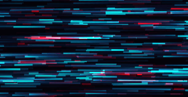 Glitch vector background. Glitch vector frame. Symbol of cyberpunk, hacker attack. Modern design, technological error. Texture and effect for your design. problems stock illustrations
