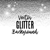 A vector illustration of  a glitter background.