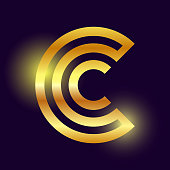 golden C Logo sign