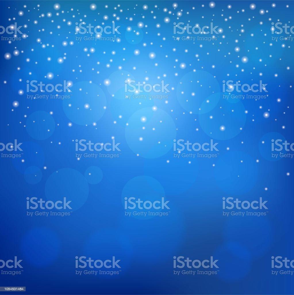 キラキラ星や雪ドロップ夜景 クリスマスのテーマの壁紙や背景として使用