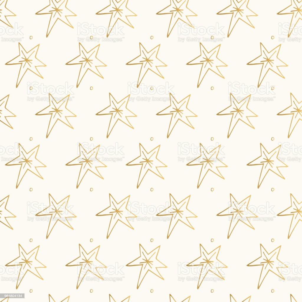 Glitter vector stars. Golden hand drawn pattern. royalty-free glitter vector stars golden hand drawn pattern stock vector art & more images of abstract