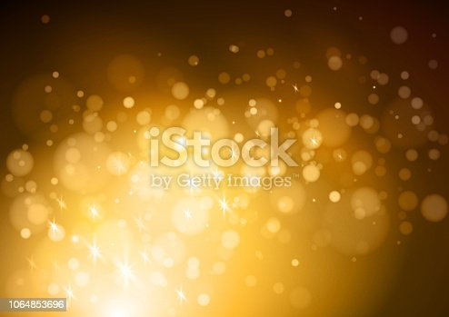 Sparkling abstract elegant gold vector background