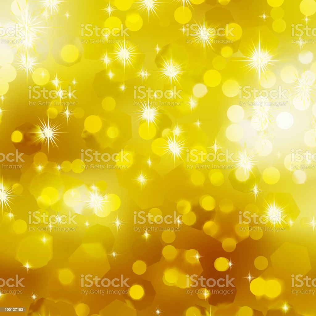 Glittery gold Christmas background. EPS 8 royalty-free stock vector art