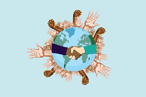 Global awareness against racism