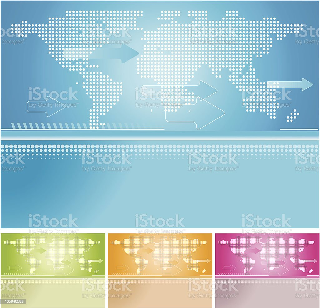 Global  Background royalty-free stock vector art